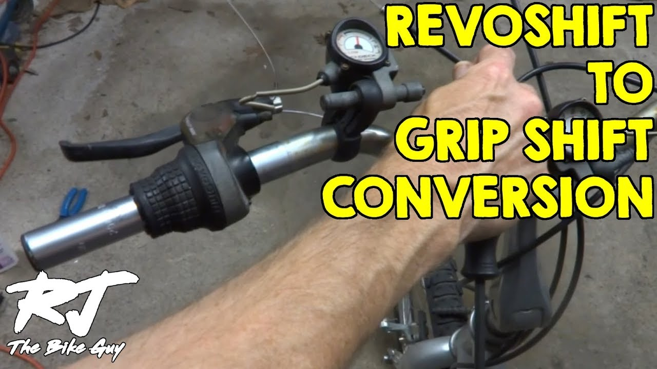 Replacing Shimano Revoshift With Sram Grip Shift Shifters