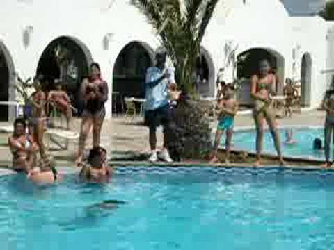 Danse du club hotel eldorador salammbo hammamet Zaama Zaama