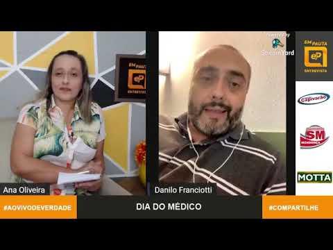 Em Pauta Entrevista médico intensivista Danilo Voltan
