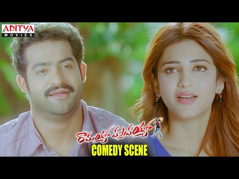 Ramayya Vasthavayya Movie - NTR & Shruti Haasan Comedy Scene - Jr.NTR, Samantha, Shruti Hassan