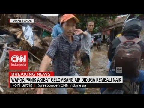 Warga Panik akibat Gelombang Air Diduga Kembali Naik | Tsunami di Selat Sunda