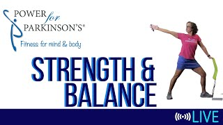 Power for Parkinson's Thursday Strength & Balance - Live Streaming Day 149