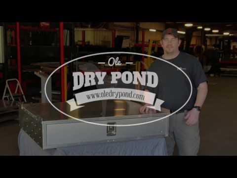 Ole Dry Pond  Storage Drawers
