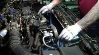видео Замена ГРМ и свечей двигателя 6G72 Mitsubishi Pajero.