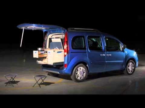 kangoo camper travelpack youtube. Black Bedroom Furniture Sets. Home Design Ideas