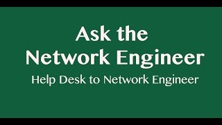ANE Series: Help Desk to Network Engineer (Updated)(In this episode of