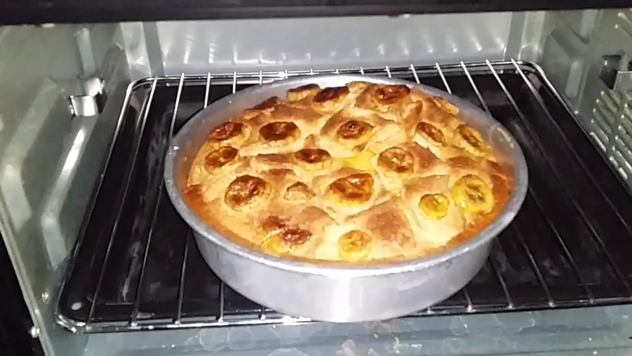 Puding Roti Pisang