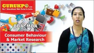Consumer Behavior, Consumer Behavior and Market Research (MBA, BBA), Gurukpo
