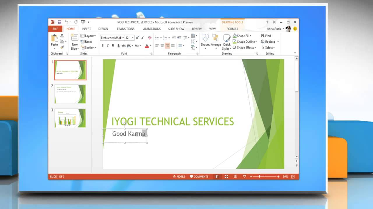 How To Make Hyperlink Slides In Microsoft� Powerpoint 2013 In Windows� 8 Youtube  How