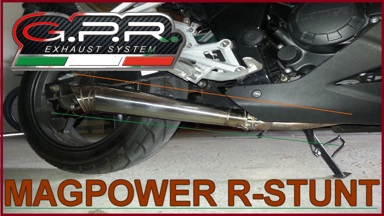 magpower r stunt 125 gpr sound exhaust youtube. Black Bedroom Furniture Sets. Home Design Ideas