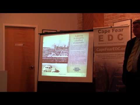 CFEDC Presents: The Future of NC Ports, March 26th, 2013
