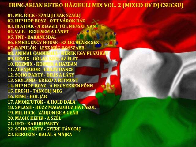 HUNGARIAN RETRO HÁZIBULI MIX VOL