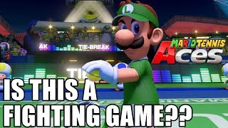 Is Mario Tennis Aces Secretly a Fighting Game???