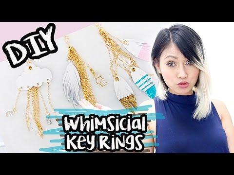 DIY:Whimsical Key Ring/ Bag Charms
