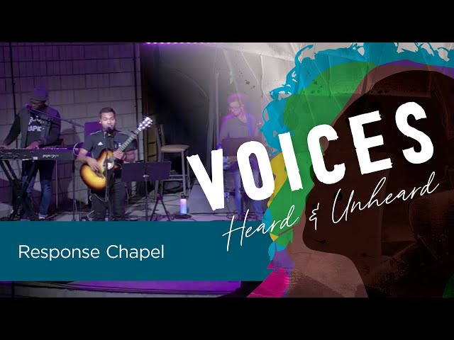 Friday Response Chapel   Michael VanVels