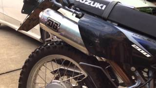2009 Suzuki DR200SE with DG Performance 03-6200 - O-Series exhaust