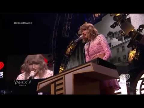 Taylor Swift - Love Story (New Version Remix) - LIVE at iHeartRadio Music Festival 2014 (19.09.2014)