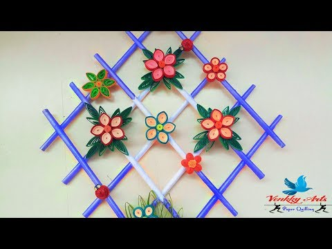 diy|-quill-paper-wall-hangers-for-room-decoration-|-paper-quilling-art-|