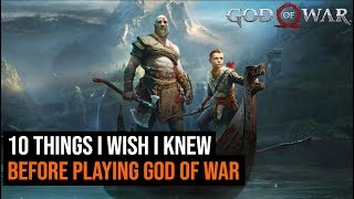 10 Things you should know Before Playing God of War
