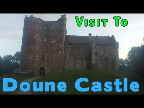 castles of scotland Doune Castle stirling (Game of Thrones)