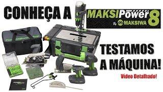 Maksipower 8 - Conheça a Máquina (vídeo detalhado)