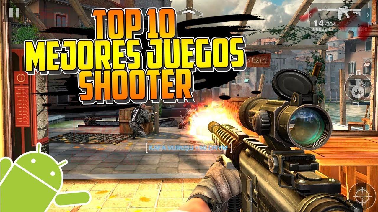 Top 10 Mejores Juegos Shooter Para Android Gratis Online Offline