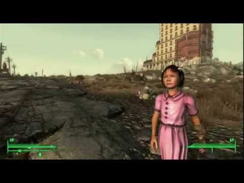 Lucy in the wastes with guns - Let's go sunning