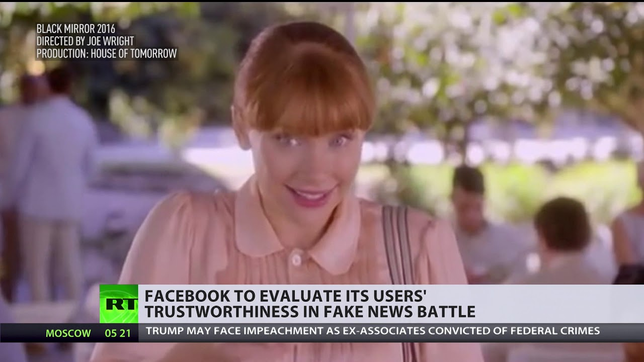 Facebook makes 'Black Mirror' more real than ever with new rating system