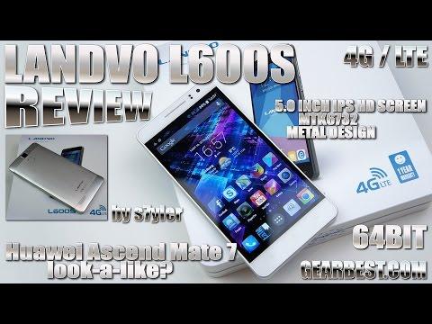 "Landvo L600S [REVIEW] MTK6732 64-bit, 4G/LTE, 5"" IPS HD, 4.4.4 KitKat, Metal Cover"