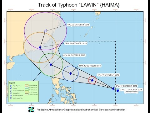 Super Typhoon Hits Philippines as Philippine President  meets with Chinese Premier