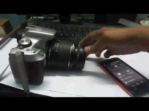 Connect Canon EOS camera with WIFI ( CANON 1300D) and use bulb mode