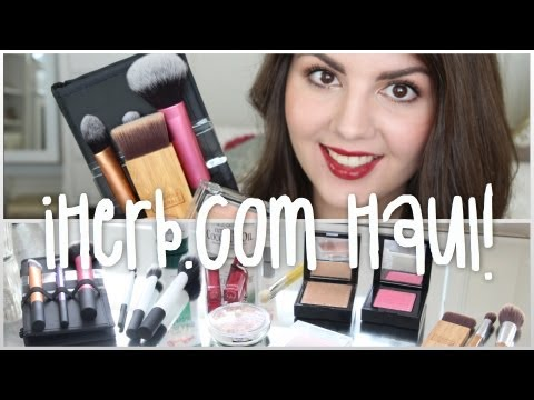 iHerb Makeup, Brush & Skincare Haul! - 동영상