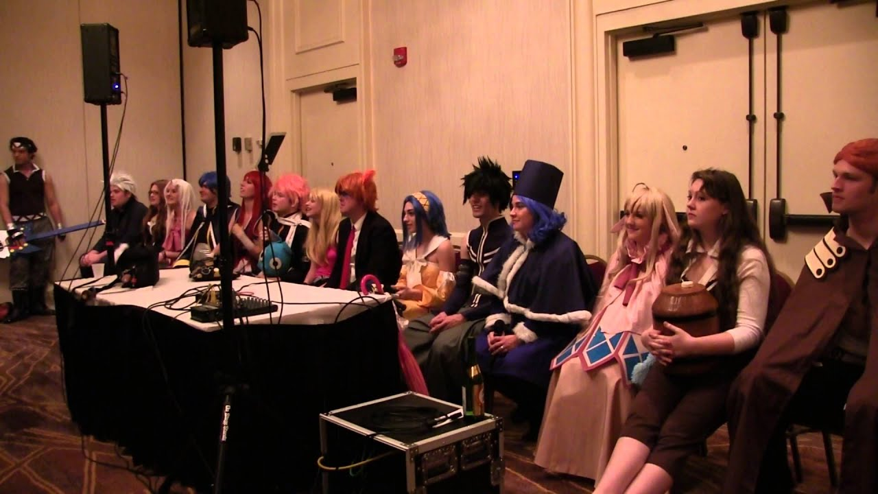 Ask Fairy Tail Panel Triad Anime Convention 2016 Part 1