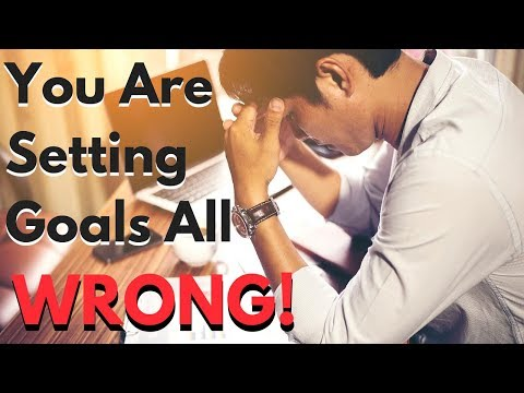You are Setting Your Goals Wrong! (Ft. Joshua Hudson)