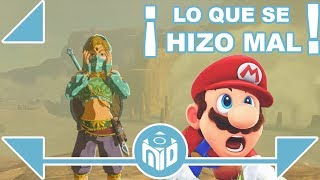 5 FALLOS y ERRORES de Zelda: Breath of the Wild y Super Mario Odyssey | N Deluxe