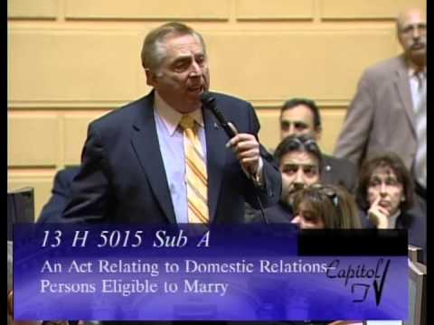 The Rhode Island House Votes on Same Sex Marriage
