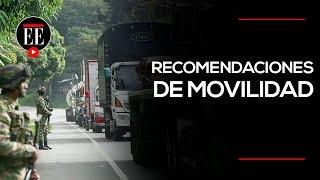 Semana Santa: recomendaciones de movilidad | Noticias | El Espectador