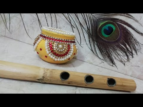 Janmashtami matka decoration DIY