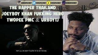 THE RAPPER THAILAND (OFFICIAL MV) - JOEYBOY, KHAN, FUKKING HERO , TWOPEE, PMC & URBOYTJ REACTION!!