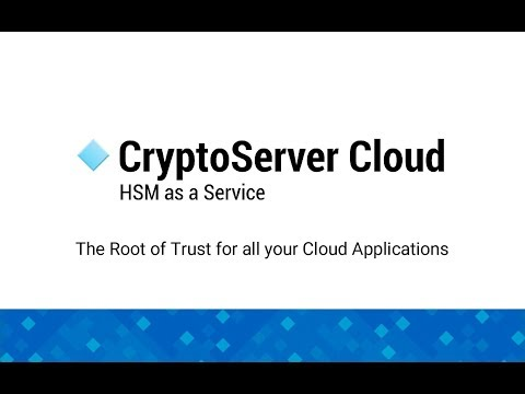 Utimaco CryptoServer Cloud: The Root of Trust HSM for the cloud