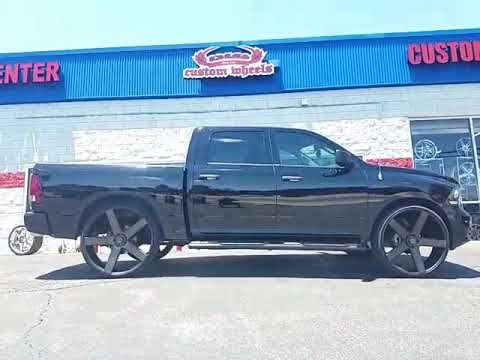 2014 Ram 1500 W 30 Quot Dub Ballers Youtube