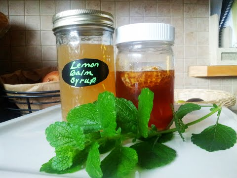 How to make a Herbal Syrup: Soothing, Calming