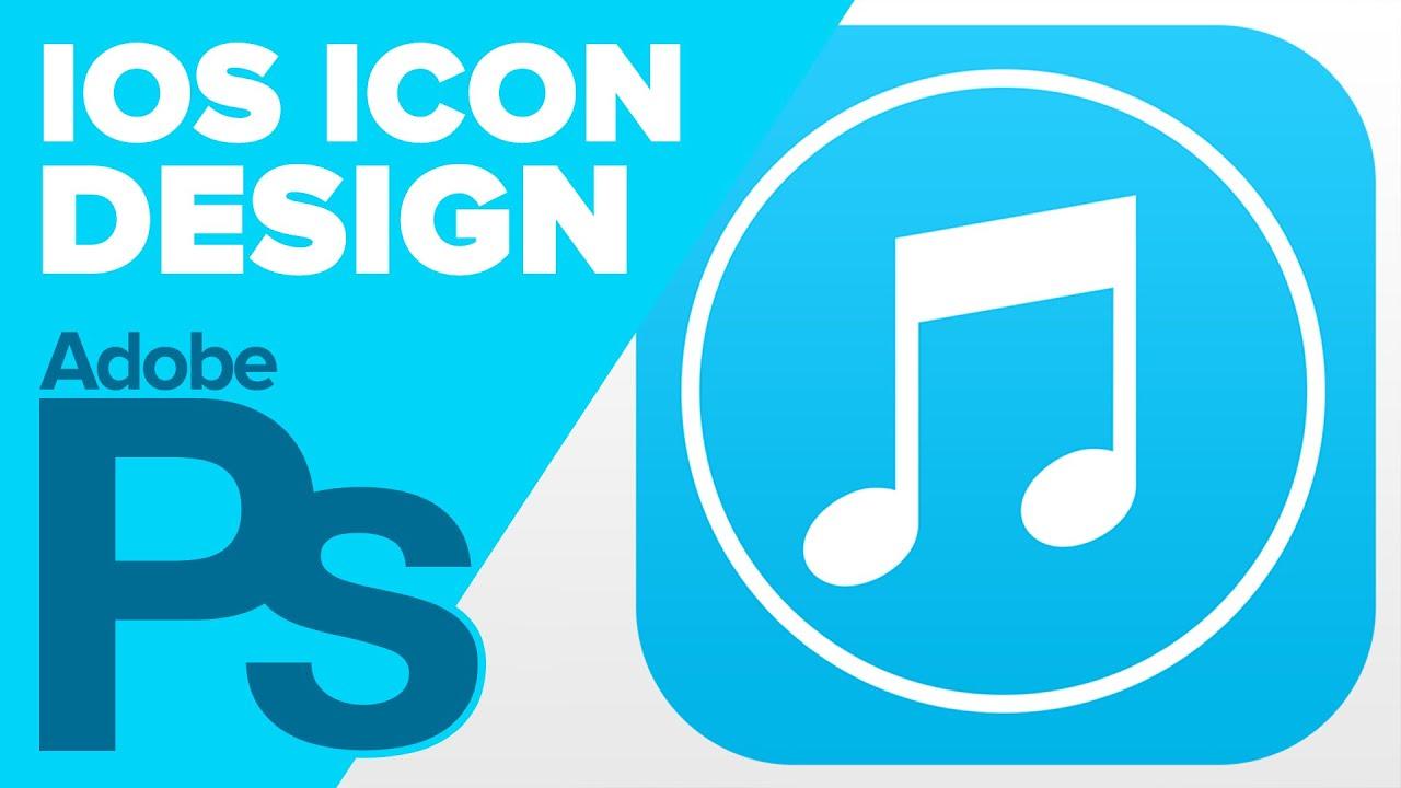 Ios Icon Design   How To Create An Ios 7 App Icon In Photoshop Youtube