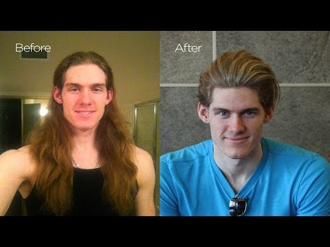 Before & After: Chris Hemsworth Haircut | Mens Summer Makeover | Men's Haircut 2014