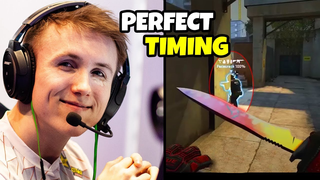 Definition of Perfect Timing...FUNNY & PRO CSGO MOMENTS