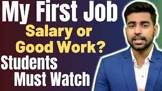 My First Job - Salary 1 Lakh Per Month? | Students Must Watch | Part TIme Jobs