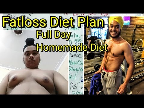 Fat loss Diet Plan in Hindi/Punjabi | Indian / Desi Diet Plan by Epic Sardarji :