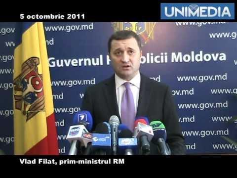Vlad Filat despre Alexandru Tanase ca presedinte CC