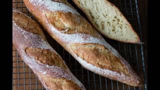 Französisches Baguette formen
