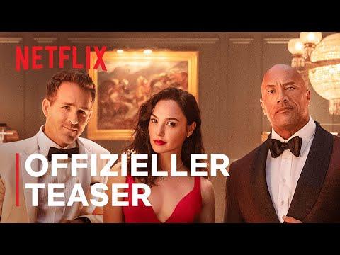 Red Notice | Offizieller Teaser | Netflix